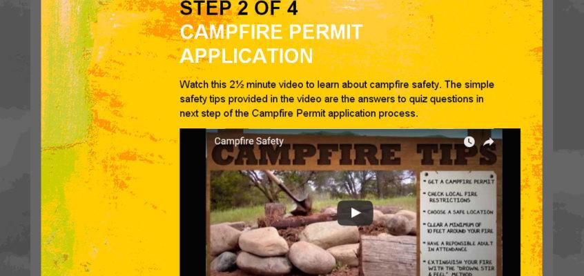 Fire Permit obtenu (pas trop compliqué certes ^^)